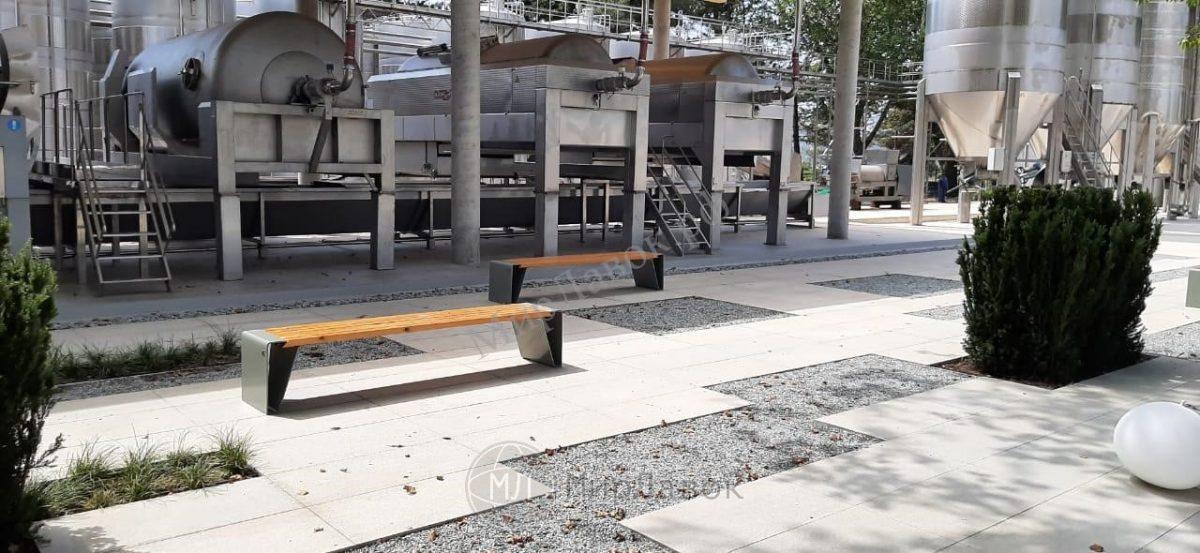 Скамейка «Владивосток без спинки»