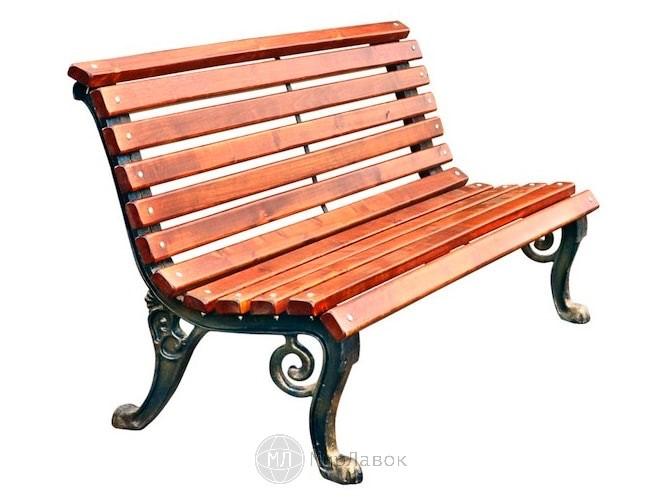 Скамейка чугунная «Нева»