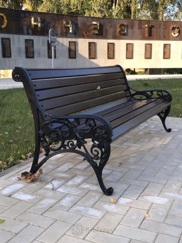 Скамейка чугунная «Ренесанс»